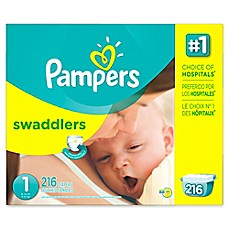 image of Pampers® Swaddlers™ 216-Count Size 1 Disposable Diapers
