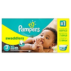 image of Pampers® Swaddlers™ 162-Count Size 3 Diapers