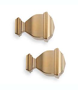 Terminal de zinc para ventanas Cambria® Napoleon Premier Complete color dorado cálido Set de 2
