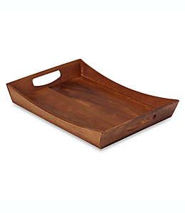 Charola de madera de acacia B. Smith®, de 50.8 cm