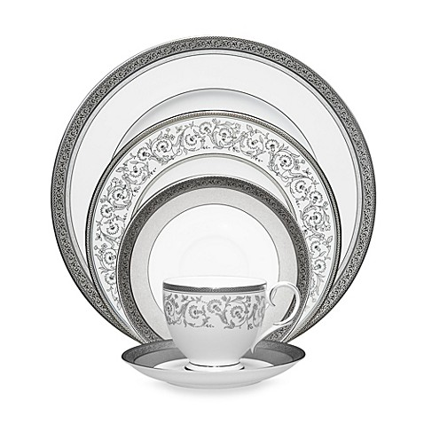 Noritake\u0026reg; Summit Platinum Dinnerware Collection  sc 1 st  Bed Bath \u0026 Beyond & Noritake® Summit Platinum Dinnerware Collection - Bed Bath \u0026 Beyond