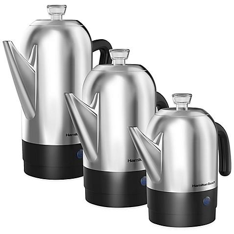 Hamilton Beach Reg Stainless Steel Coffee Percolators