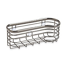 image of InterDesign® Axis Suction Sink Basket