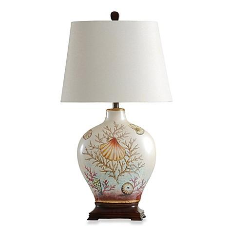 Coastal Coral Bay Ceramic Table Lamp Bed Bath Amp Beyond