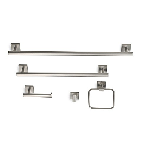 Gatco Bathroom Accessories gatco® elevate bath hardware in satin nickel - bed bath & beyond