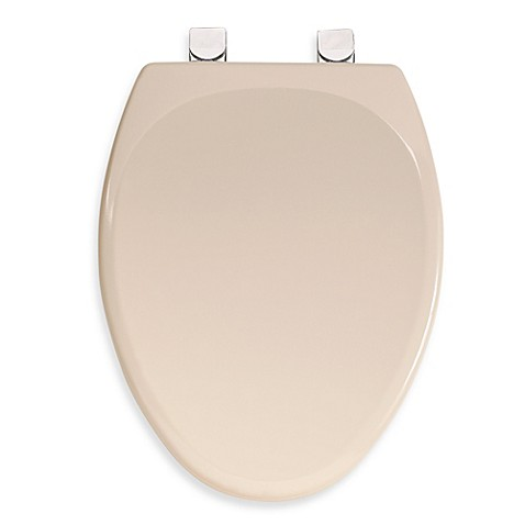 Mayfair Molded Wood Elongated Toilet Seat With Durable