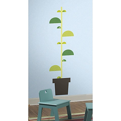 Roommates One Dcor Book Stalk Growth Chart Wall Decals Bed Bath
