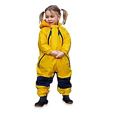 image of Tuffo Muddy Buddy Rain Suit in Yellow