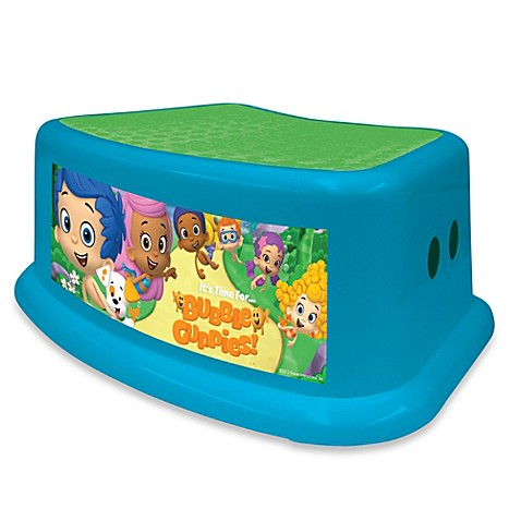 Nickelodeon Bubble Guppies Step Stool Bed Bath Amp Beyond