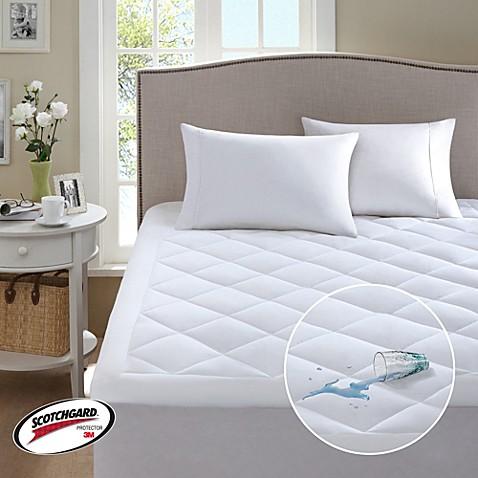 sleep philosophy 3m serenity waterproof mattress pad - bed bath