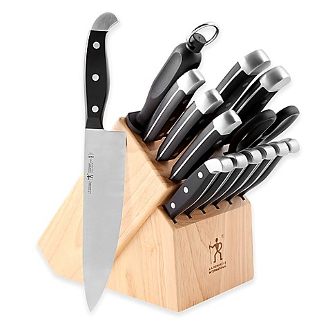 ja henckels statement 15piece knife block set - Henckels Knife Set