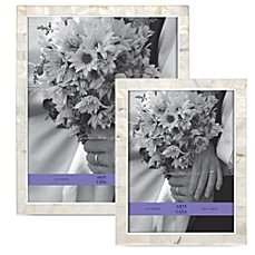image of Argento Sweetheart Mother of Pearl Wedding Photo Frames