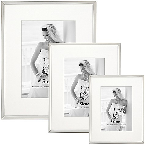 Siena Silverplated Picture Frame Bed Bath Amp Beyond