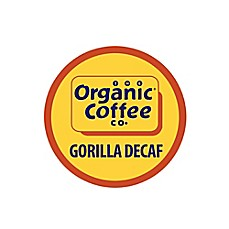 image of 36-Count OneCup™ Organic Coffee Company Gorilla Decaf for Single Serve Coffee Makers