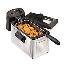 image of Hamilton Beach® Professional-Style 12-Cup Stainless Steel Deep Fryer