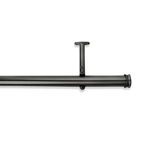 Cambria Premier Complete Decorative Drapery Rod In Graphite Bed Bath Beyond
