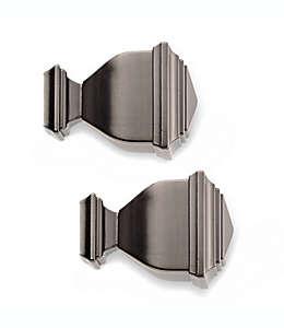 Terminal de zinc para ventanas Cambria® Napoleon Premier Complete color grafito Set de 2