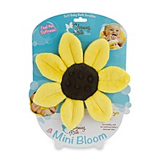 image of Blooming Bath™ Mini-Bloom Scrubbie in Canary Yellow
