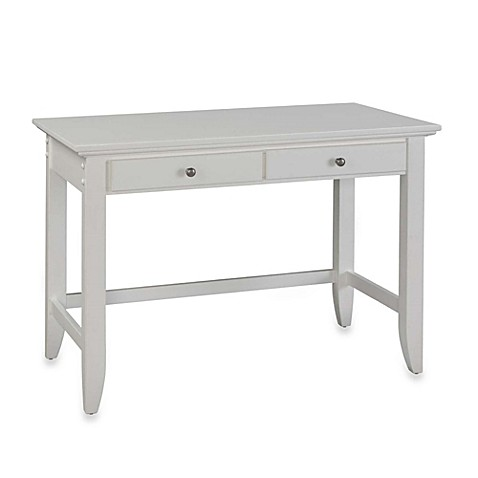 Desk Styles home styles naples student desk in white - bed bath & beyond