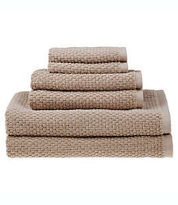 Set de toallas de algodón SALT™ Quick Dry color café pardo