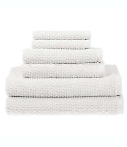 Set de toallas de algodón SALT™ Quick Dry color blanco brillante