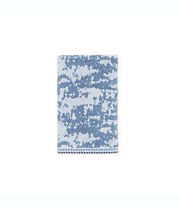 Toalla para manos Wamsutta® Collective Marble azul marino