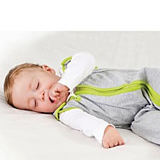 image of Baby Deedee® Sleep Nest® Lite in Heather Grey Lime