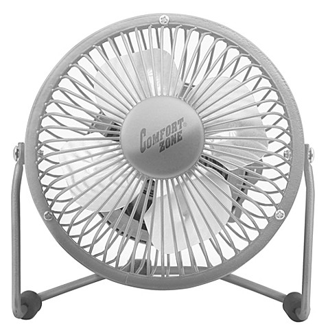 comfort 4inch cradle high velocity dual powered fan in chrome - High Velocity Fan
