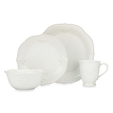 Lenox® French Perle Charm 4-Piece Place Setting