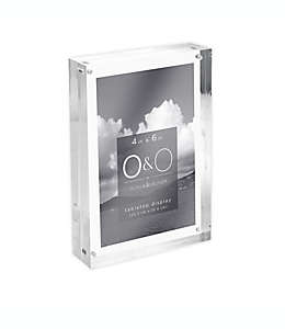 Porta retratos transparente O&O by Olivia & Oliver™