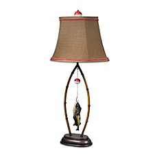 image of Crestview Collection Fish Creek 1-Light Table Lamp