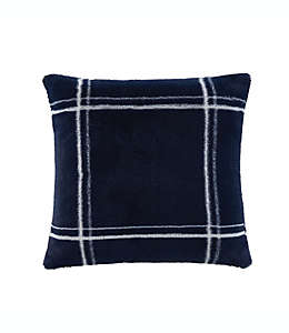 Cojín decorativo de poliéster UGG® Rowan color azul marino