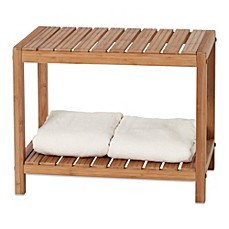bamboo shower bench | Bed Bath & Beyond