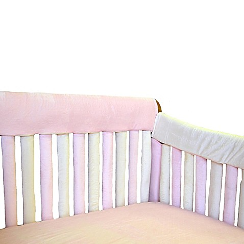 Go Mama Go Designs 174 Teething Guard In Pink Amp Creme Bed