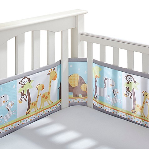 Breathablebaby 174 Mix Amp Match Breathable Mesh Crib Liner In