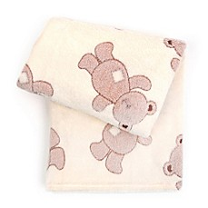 image of Tadpoles™ by Sleeping Partners 3D Bears Jacquard Baby Blanket in Brown