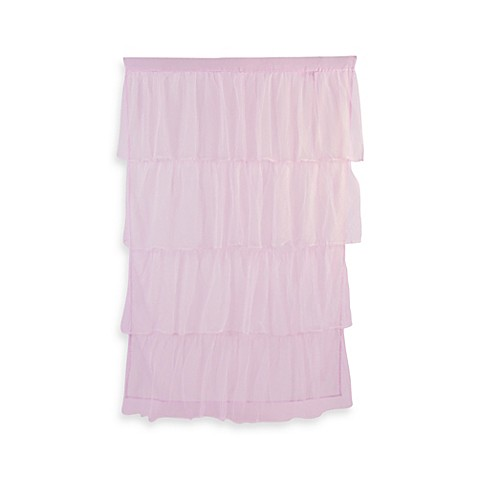Tadpoles™ by Sleeping Partners Tulle Window Curtain Panel in Pink