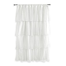 image of Tadpoles™ by Sleeping Partners Tulle Window Curtain Panel in White