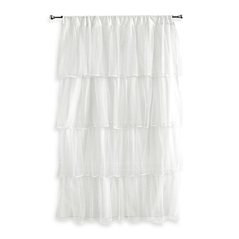 Tadpoles™ by Sleeping Partners Tulle Window Curtain Panel in White
