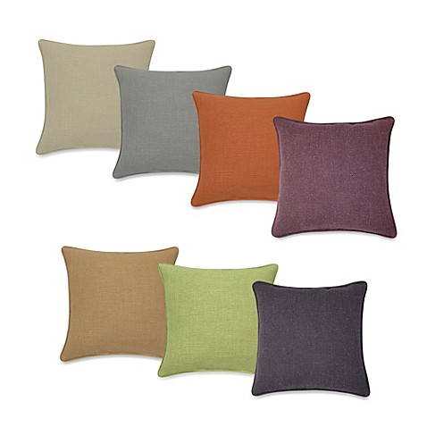Modern Square Pillow Pull : Contemporary Loft Square Throw Pillow - Bed Bath & Beyond
