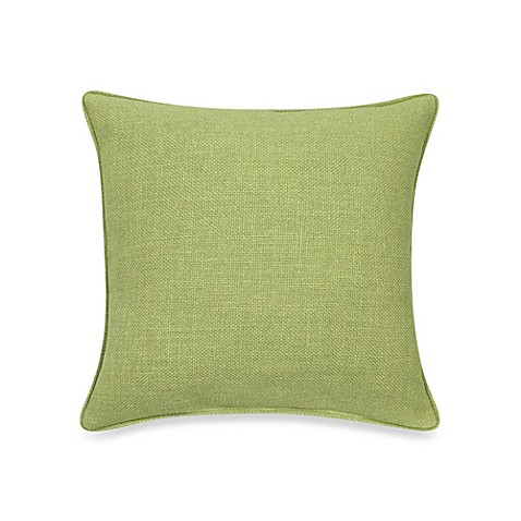 Modern Square Pillow Pull : Buy Contemporary Loft Square Throw Pillow in Apple from Bed Bath & Beyond