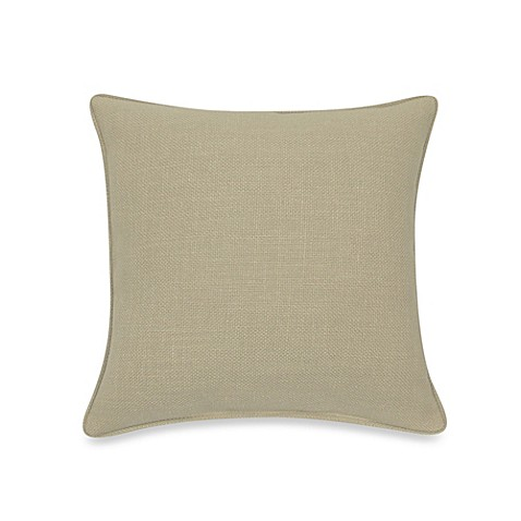 Modern Square Pillow Pull : Buy Contemporary Loft Square Throw Pillow in Cream from Bed Bath & Beyond