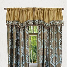 image of Austin Horn Classics Miraloma Window Curtain Panel and Valance