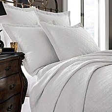 image of Kassatex Modena Collection Coverlet in White