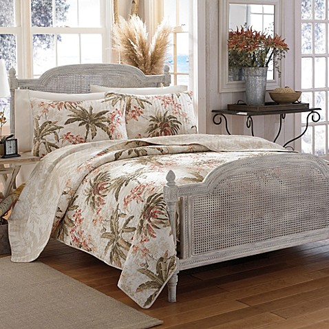 image of Tommy Bahama  Bonny Cove Quilt. Tommy Bahama   Bed Bath   Beyond