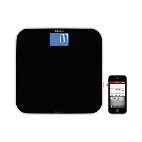 Escali Reg Smartconnect Trade Body Bathroom Scale With Bluetooth