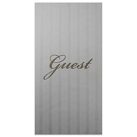 Guest 16 Pack Decorative Paper Guest Towels Bed Bath Beyond