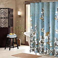 image of Hanami 72-Inch x 72-Inch Shower Curtain