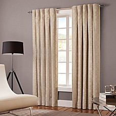 image of Designer's Select Claudia Back Tab Window Curtain Panel