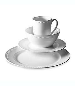 Vajilla de porcelana de hueso Tabletops Unlimited® Otella, 16 pzas